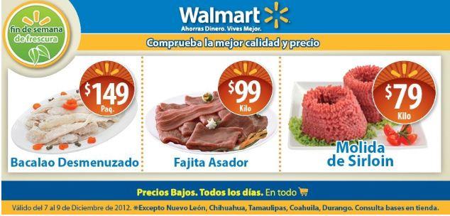Fin de semana de frescura Walmart diciembre 7: molida de sirloin $79 y más