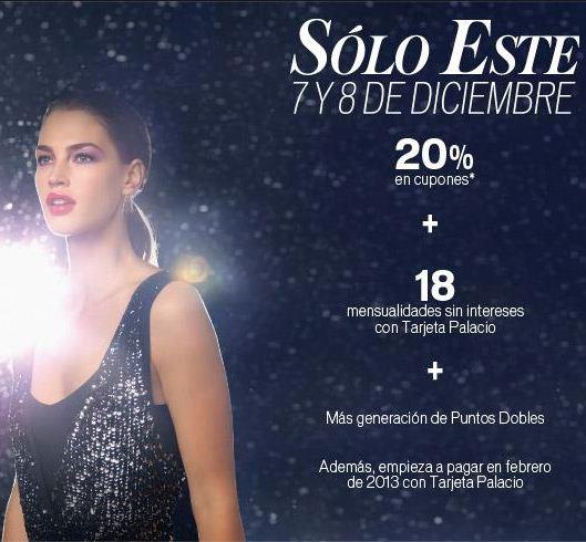 Venta Especial Palacio de Hierro 7 y 8 de diciembre