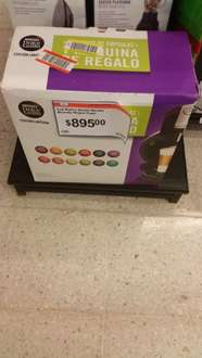 Chedraui Coatzacoalcos Independencia: cafetera Dolce Gusto Melody + 12 cajas
