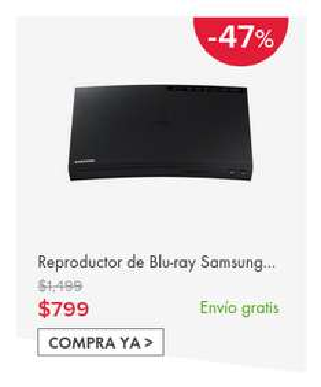 Ofertas Hot Sale Linio: Reproductores de Blu-ray Samsung a $799, Sony BDP-S1500 a $899