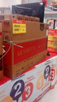 "Soriana Culiacán Abastos: LG 43LH5700 Smart TV 43"" LED Full HD a $6,990"