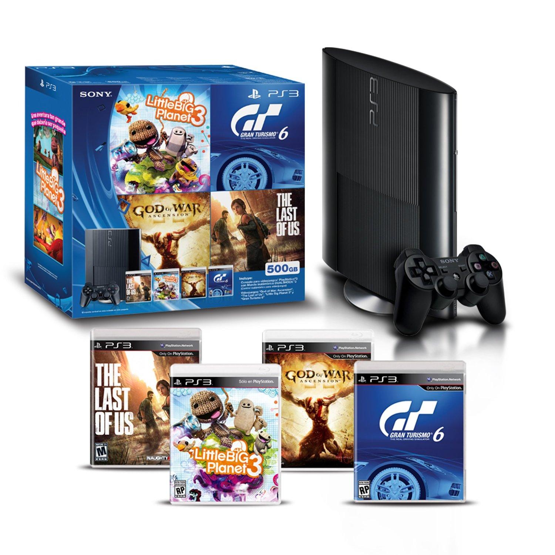 Ofertas Hot Sale Amazon: PS3 + 4 juegos $3,333 con Banamex