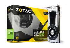 Hot Sale en Amazon: Tarjeta de video GTX 1080 Founders Edition Zotac (13,651.60 con Banamex)