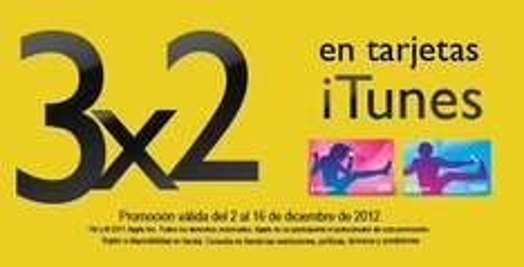 Blockbuster: 3x2 en tarjetas iTunes