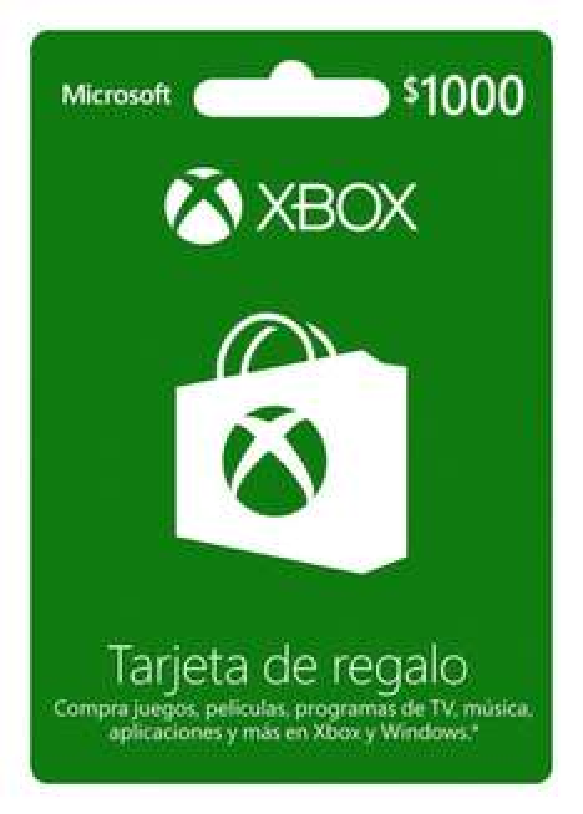 Ofertas Hot Sale Amazon: tarjetas de $1,000 para Xbox a $800 para todos o $667 comprando 2 con Banamex