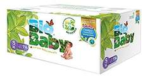 Oferta del Hot Sale en Amazon: Pañales Bio Baby, Unisex, Talla Extra Grande/5, 114 Piezas en Amazon a 303