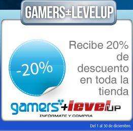 20% en Gamers incluye Wii-U y promociones en Telcel, Decompras, Primera Plus y + con SafetyPay