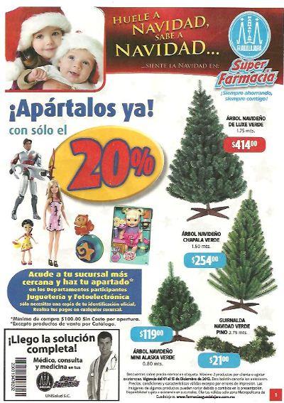 Folleto Farmacias Guadalajara: gratis recarga Telcel comprando cepillo Colgate y más