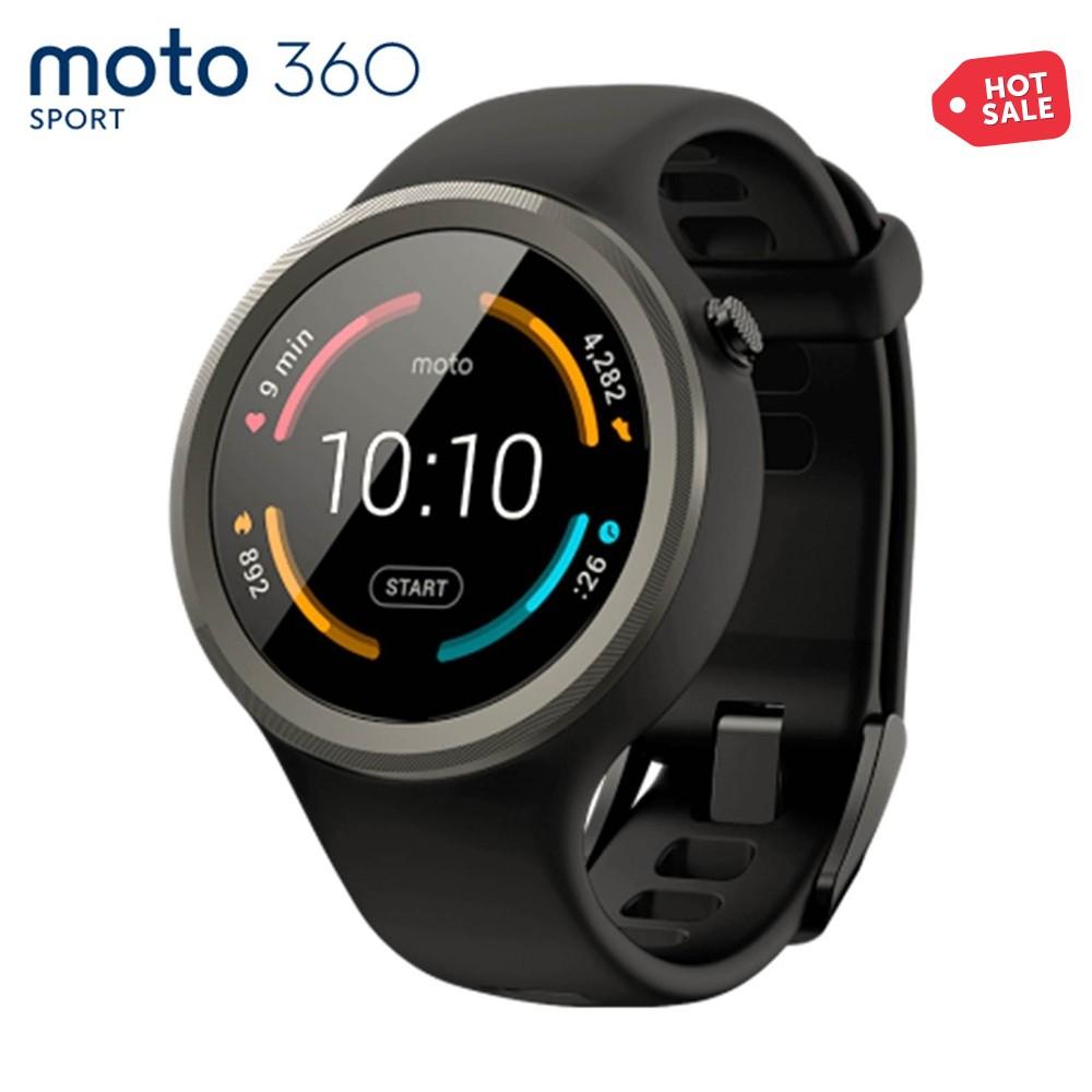 Ofertas Hot Sale Walmart: Moto 360 Sport Edition Negro $4,499 ($3,999 Con Banamex)