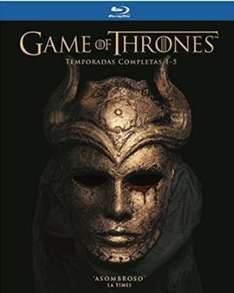 Ofertas Hot Sale Amazon: Game of thrones BD temporada 1-5 $1589 ($1325 con Banamex)