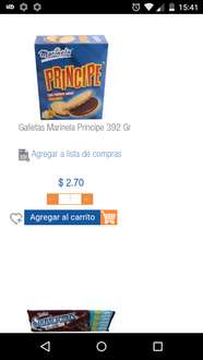 Chedraui Cd. Labor: Galletas Príncipe 392grs a $2.70