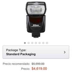 Oferta del Hot Sale en Amazon: Flash Nikon Speedlight SB-700 con 23% de descuento a $4,619