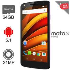 Hot Sale en Walmart: Motorola Moto X Force 64GB Negro a $8,999 ($7,999 con Banamex)