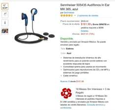 Oferta del Hot Sale en Amazon: audifonos sennheiser a $162