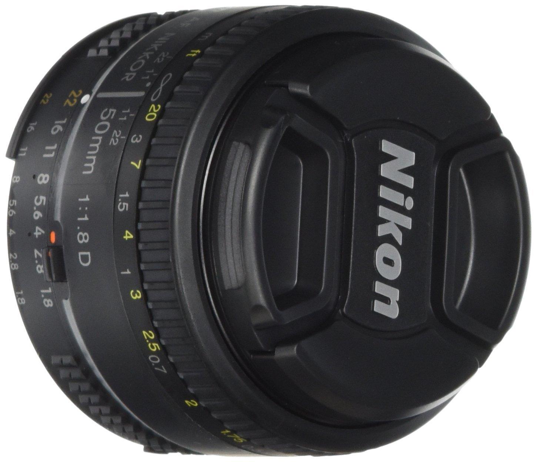 Oferta de Hotsale en Amazon: Nikon AF NIKKOR 50 mm f/1.8D de $1,609 a $1,341 con Banamex