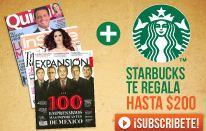 Linio: hasta $200 para Starbucks al suscribirte a diferentes revistas