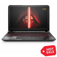 """Sanborns en línea: Notebook HP Star Wars 15"""" + Bocina Halcón Milenario"""