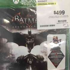 Sam's Club: Batman arkham knight para Xbox One a $499