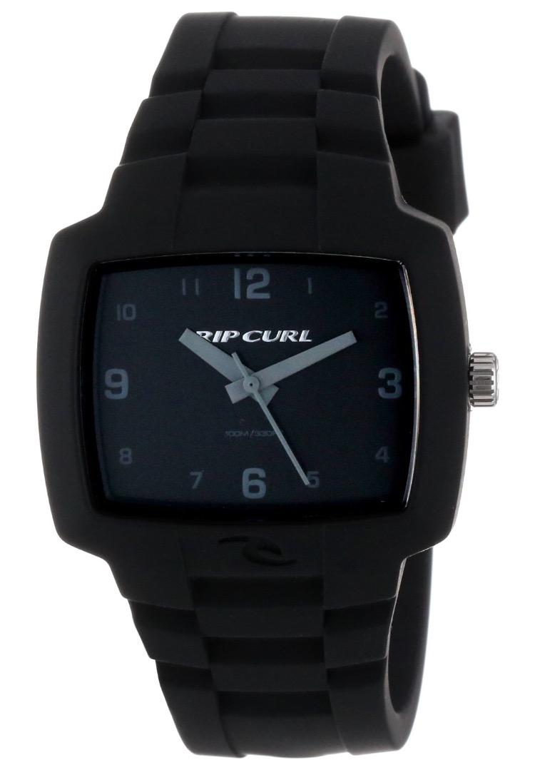 Amazon: Rip Curl Men's A2630 - tamaño mediano de turistas BLK negro de silicona reloj juveniles