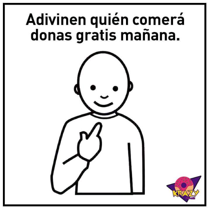Krazy Donuts: Dona Gratis el 3 d ejunio (Mérida)