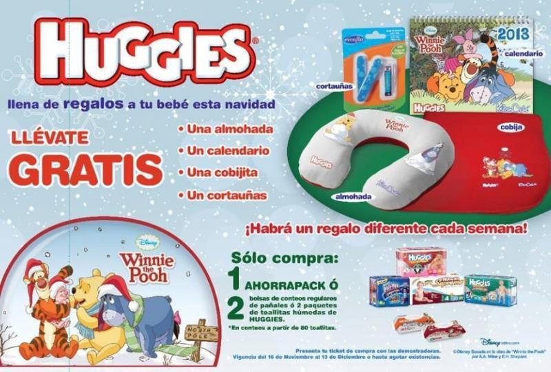 Huggies: regalos de Winnie the Pooh con compra