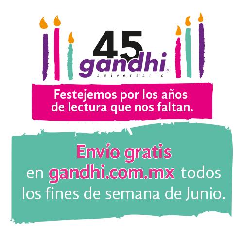 Envío Gandhi gratuito los fines de semana al comprar por internet