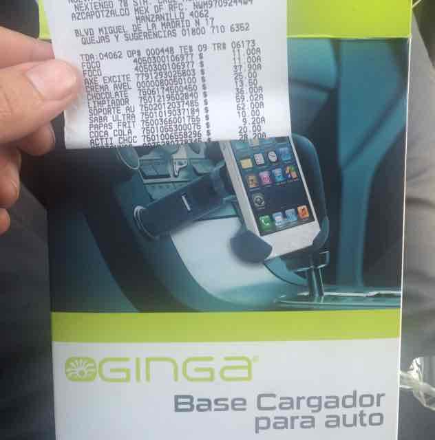 Walmart: base cargador para auto de $200 a $59.02