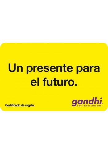 Gandhi: tarjeta de regalo de $200 a $170
