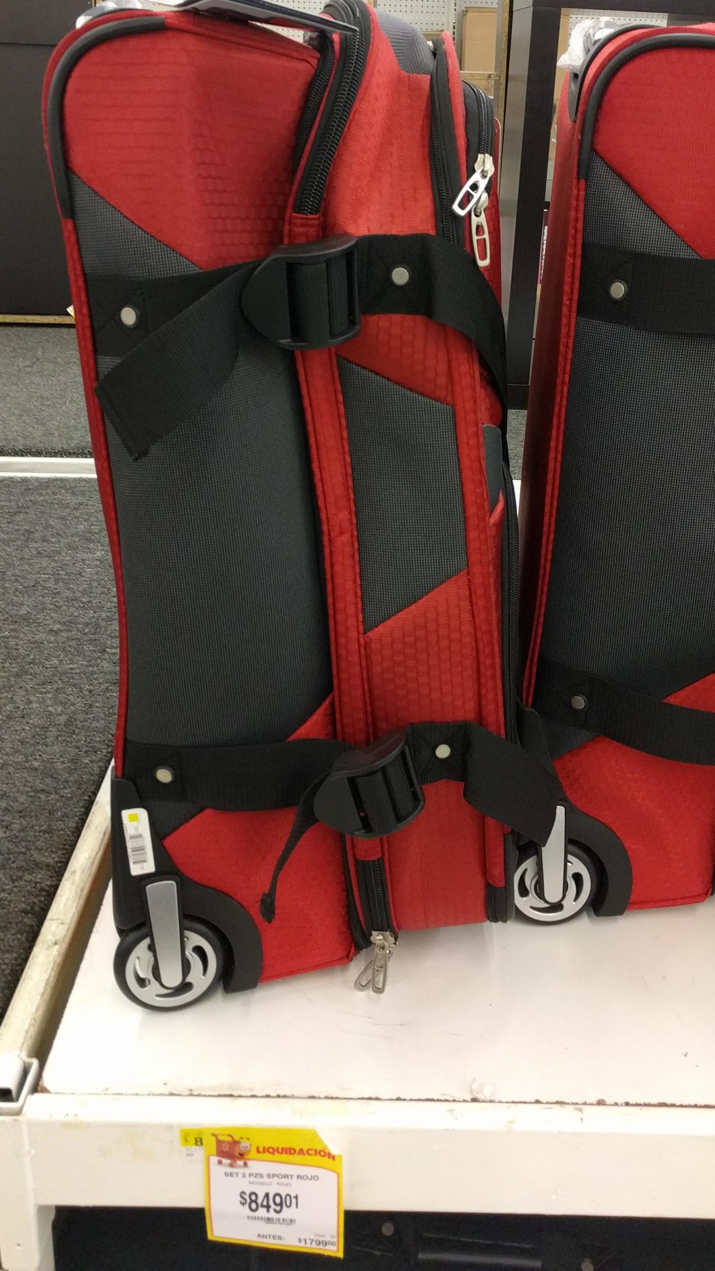 Walmart Culiacan: maleta viaje $849.01