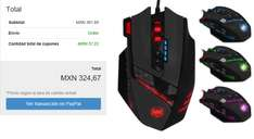eBay: 12 Led Botones 4000dpi Zelotes C-12 Programable Óptico con Cable Gaming Mouse