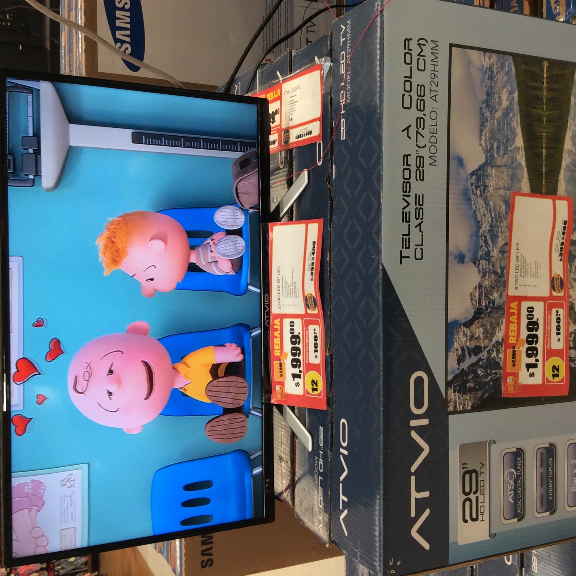 "Walmart - Domingo Diez: Televisor LED Atvio 29"""