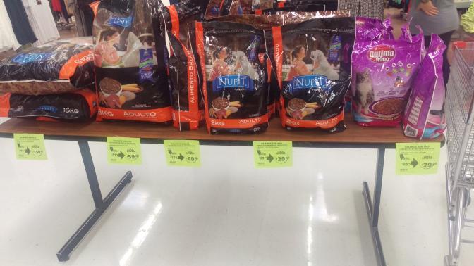 Comercial Mexicana: Croquetas perro y gato.