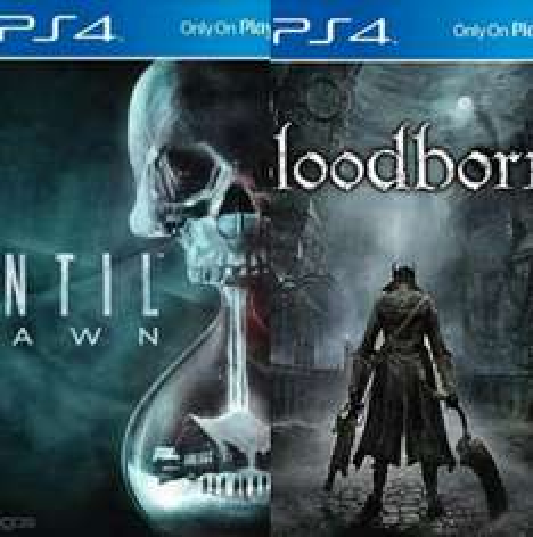 Liverpool en línea: Bloodborne y Until Dawn a $399 cada uno.