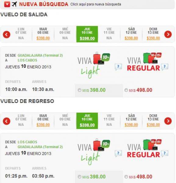 Ofertas del Buen Fin VivaAerobus y American Airlines
