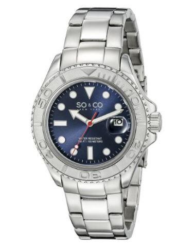 Amazon: Reloj So&Co New York muy barato