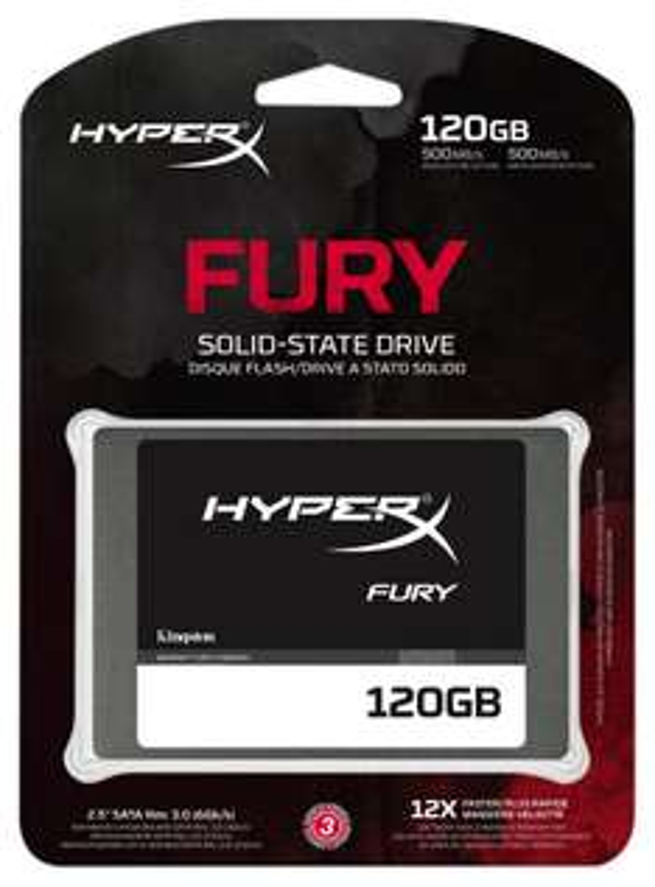 Amazon: SSD Kingston Digital HyperX FURY 120 GB