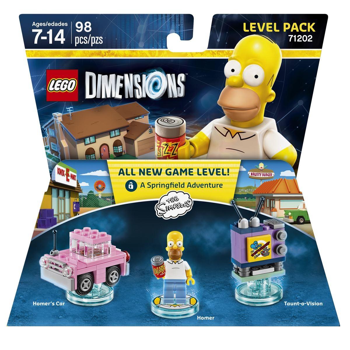 Best Buy en Línea: Lego Dimensions Level Pack Simpsons de $599 a solo $10