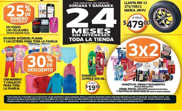 Venta Nocturna Soriana Hiper hoy: 30% en TVs Panasonic, 20% en consolas PlayStation y +