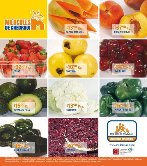 Miércoles de frutas y verduras Chedraui: tomate $4.90, pepino $7.90 y más