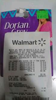 Walmart Felix Cuevas: malla dorian grey a $10