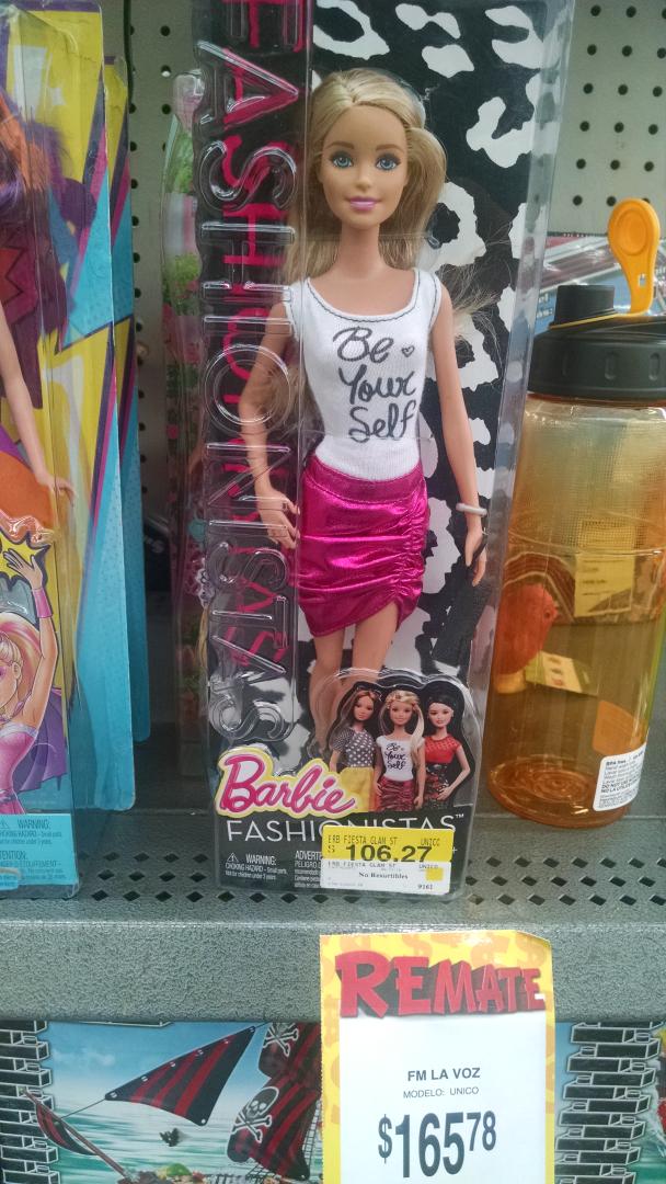 Bodega Aurrerá: Barbie a $106