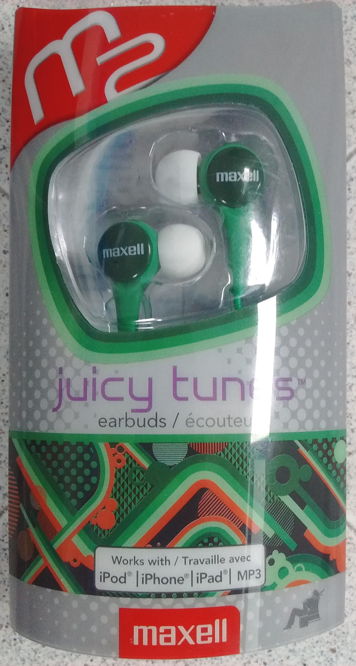 Walmart Toltecas: Audífonos Maxell Juicy Tunes