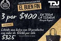 Ofertas del Buen Fin en The Body Shop
