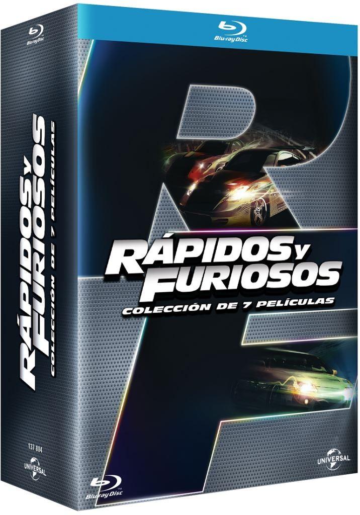 Best Buy en línea: Paquete Rápido y Furiosos 1-7 Blu Ray