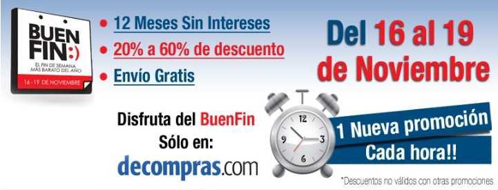 Ofertas del Buen Fin en Decompras.com