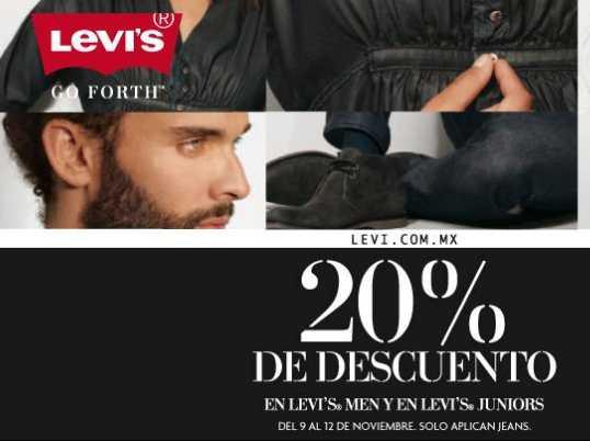 Suburbia: 20% de descuento en jeans Levi's y 2 x 1 y medio en camisas y blusas