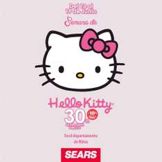 30% de descuento en Hello Kitty en Sears