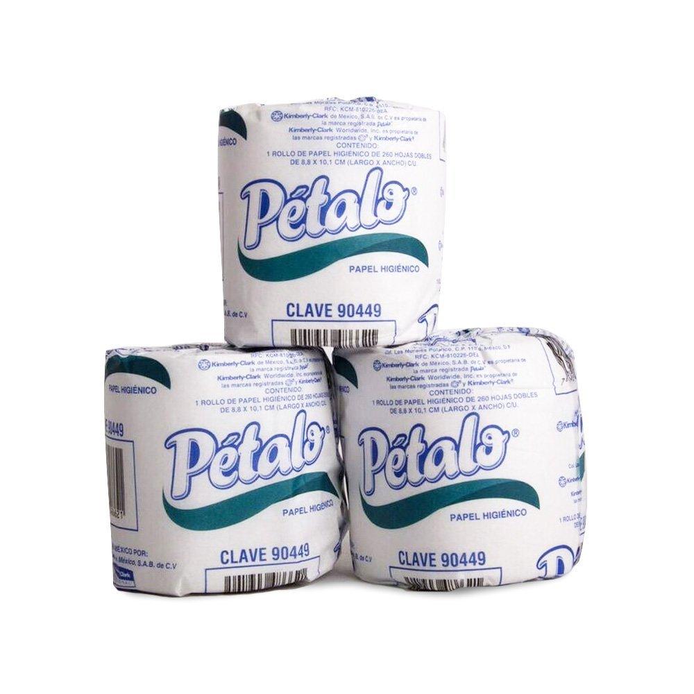 Amazon: 96 rollos de papel higiénico Pétalo