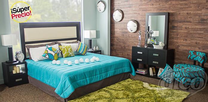 Muebles Dico en línea: recámara King Size (CDMX) $5,295
