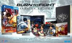 Amazon: preventa King of Fighters XIV Burn to Fight Edition para PS4